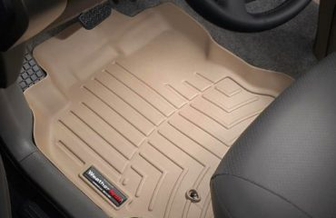 floor liners with raised lips